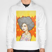 ginger Hoodies featuring Ginger by Bhavana S N