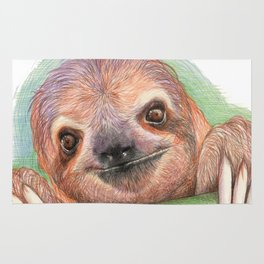 The Smiling Sloth Rug