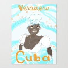 Bienvenido! Las Isla de Juventud Canvas Print