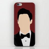darren criss iPhone & iPod Skins featuring Darren Criss Met Ball by byebyesally