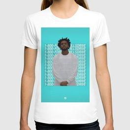 J Cole art T-shirt