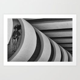 Geometric feelings Art Print