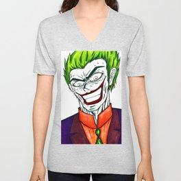 The Joker Unisex V-Neck
