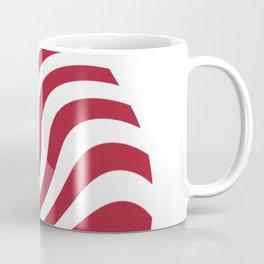 flag in the wind 1: USA Coffee Mug