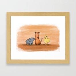 Die Sendung mit der Maus Framed Art Print