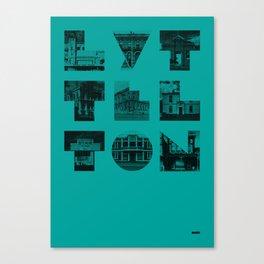 Missing buildings of Lyttelton Canvas Print
