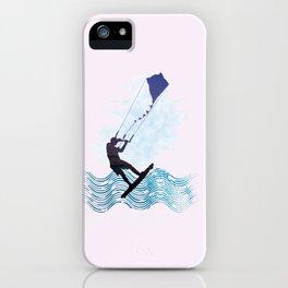 [mis]interpreting kiteboarding iPhone Case