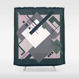 Geometric illustration 7 Shower Curtain