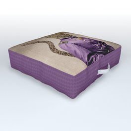 Grand Viceroy Leopold Leopard Outdoor Floor Cushion