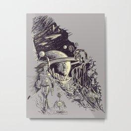 Stranded on Alpha Centauri Metal Print
