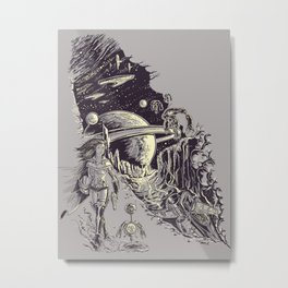 Stranded on Alpha Centauri Metal Print