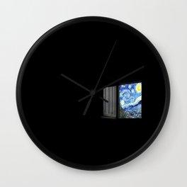 > w i n d o w Wall Clock