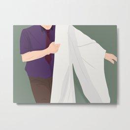 Robe of Purity Metal Print