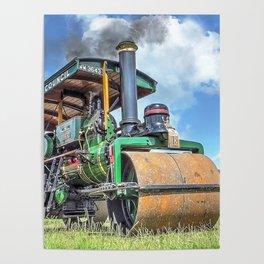 Marshall Steam Roller Poster