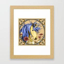 November Unicorn Framed Art Print