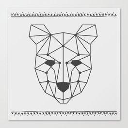 Totem Festival 2015 - Black & White Canvas Print