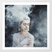 illusion Art Prints featuring Illusion by Jovana Rikalo