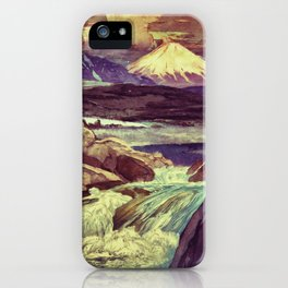 The Rising Fall iPhone Case