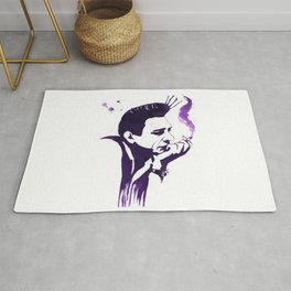 Johnny Cash Rug