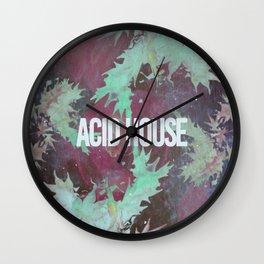 Acid House III Wall Clock