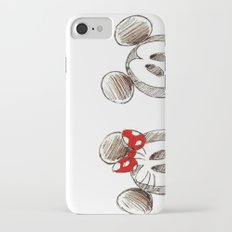Mickey and Minnie Mouse.  Slim Case iPhone 7