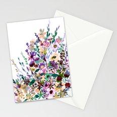 Scarlett Floral Pastel Stationery Cards