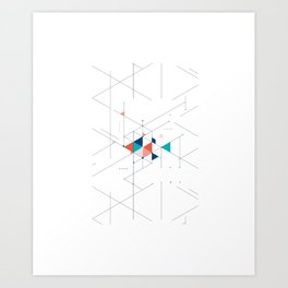 Beam Art Print