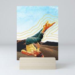 Head over heels Mini Art Print