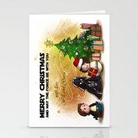 casablanca Stationery Cards featuring Casablanca Monigotadas by Monigotadas