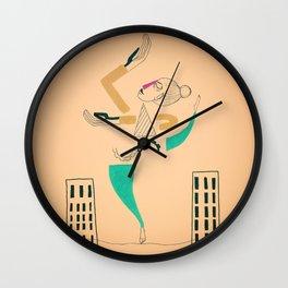 The Air Dancer Wall Clock