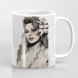 Edwige (street art sexy portrait of Edwige Fenech) Coffee Mug