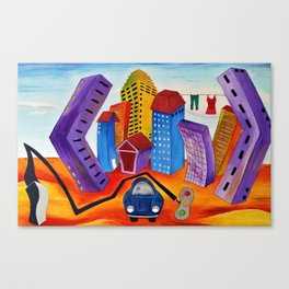 Don't Forget the Wash Canvas Print