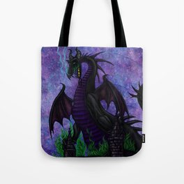 Dragon Maleficent Tote Bag
