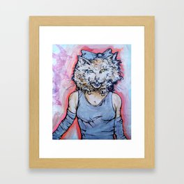 How Will I Meow? Framed Art Print
