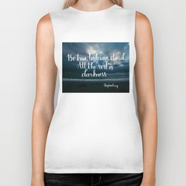 Be True, Be Brave, Stand Biker Tank