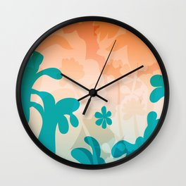 Breezy Bracken Wall Clock