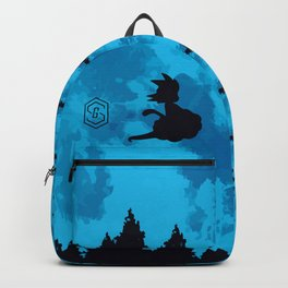 The Moon on Dragon Ball - Blue Backpack