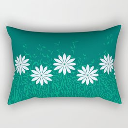 Bear Grass & Mint Rectangular Pillow