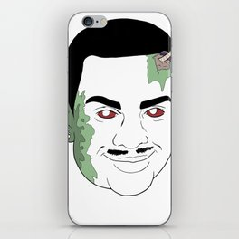 Zombie Carlton iPhone Skin