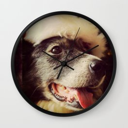 Christmas Molly Wall Clock