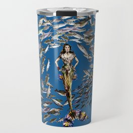 Mermaid in Monaco Travel Mug