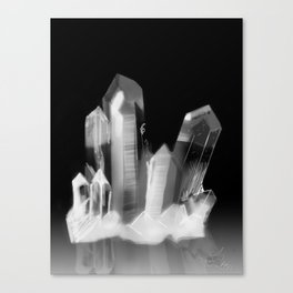 Crystal Cluster, no. 3 Canvas Print