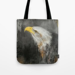 The Mighty Bald Eagle Tote Bag
