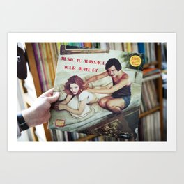 Music to Massage Your Mate By Art Print