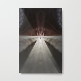 rorscach sablon brussels church Metal Print