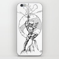 thundercats iPhone & iPod Skins featuring Lion-O Thundercats by GPap