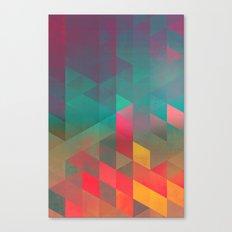 byych fyre Canvas Print