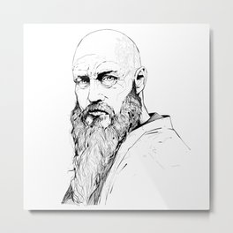 Vikings - Ragnar Lothbrok Metal Print