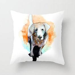 dog#20 Throw Pillow