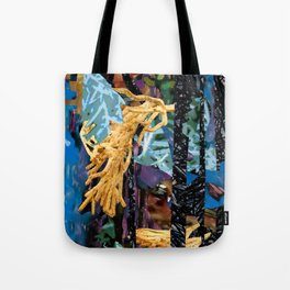 Surreal-Real Textures Tote Bag
